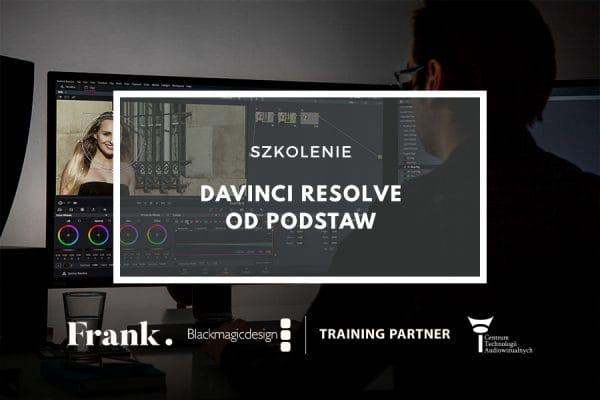 Szkolenie DaVinci Resolve odpodstaw 30.08 – 01.09.2019 (płatne)