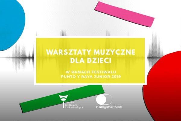 Warsztaty muzyczne dla dzieci, wrzesień/październik 2019