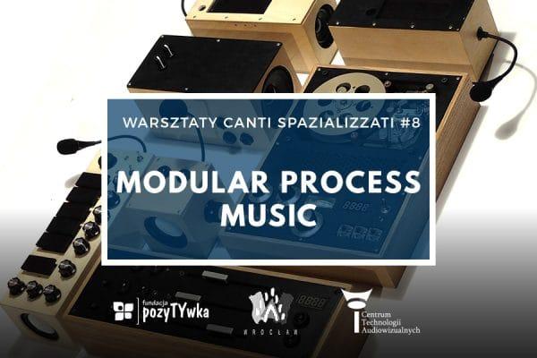 """Warsztaty """"Modular Process Music"""" 17.11.2019"""