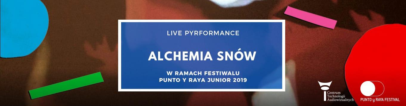 Alchemia snów - live pyrformance