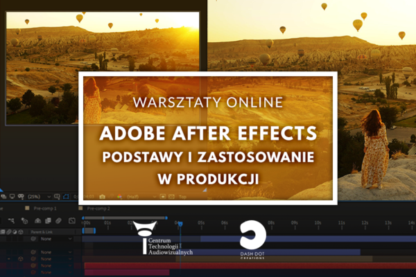 Adobe after effects - warsztaty online