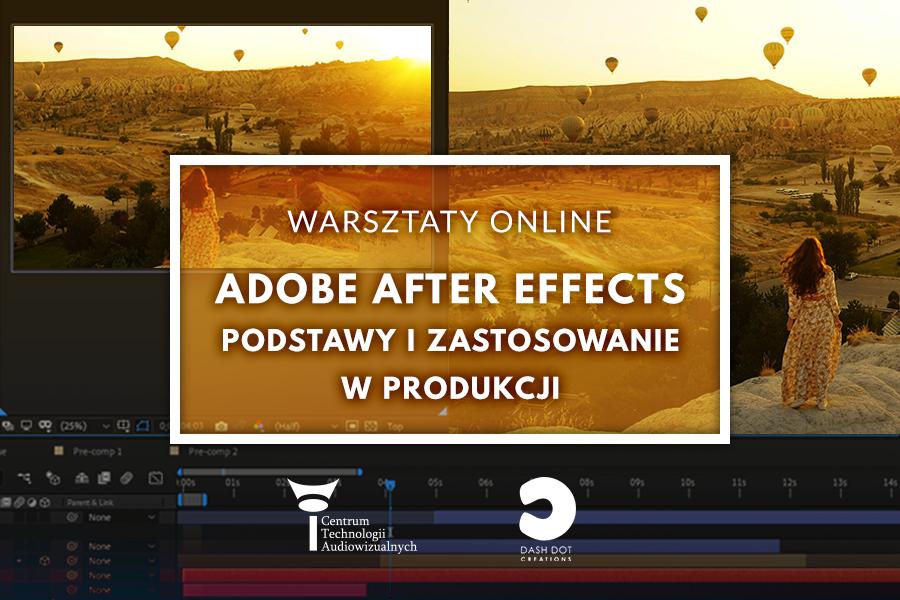 Adobe after effects - warsztaty online